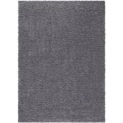 Mainstays Manchester Shag Rug 2.1mx3m,Grey Flannel