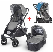 Uppababy Vista 2015/2016 with Uppababy Vista Rain Cover