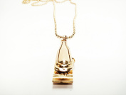 Barber Clipper Necklace 3 Styles Barbering Necklace Matte, Chrome Plated, Gold Plated