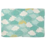 . repeating pattern (3) Beach Towel 70cm x 140cm