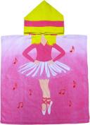Ballerina Hooded Poncho Bath & Beach Towel