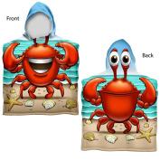 Kids Crabbie Towel Poncho