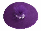 23cm Tulle Circle Wrap - Purple