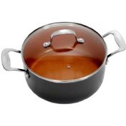 Ceramic and Titanium Nonstick 4.7l Pot with Lid