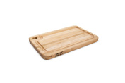 John Boos Prestige Wood Edge Grain Reversible Cutting Board with Juice Groove, 46cm x 30cm x 3.2cm , Maple