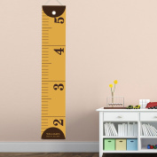 Personalised Kids Canvas Height Chart