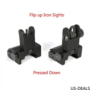 US-DEALS 1 X Flip Up Front and Rear Back up Iron Sight