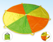 POCO DIVO 1.8m Play Parachute Kids Funchute Children Canopy Wind Tent with 6 Handles