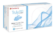 Cranberry USA CR3216 Truly LDP Nitrile Powder Free Exam Gloves, Small, Blue