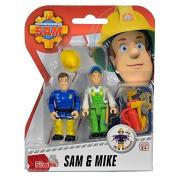 Dickie-Spielzeug Fireman Sam - Set Of Figures - Sam & Mike Fs91054