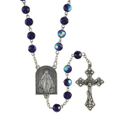 Glass Bead Mysteries Centre Rosary, 60cm , 5.1cm Crucifix