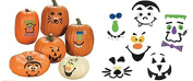 Pumpkin decorating craft kits - 50 pc bulk set