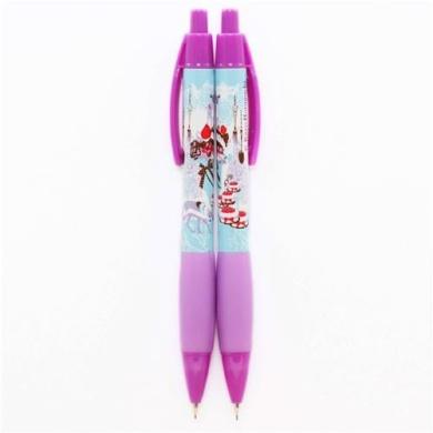 purple blue deer spoon fork mechanical pencil from Japan