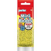 Perler Beads 80-14059 2000 Mini Beads, Yellow