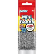 Perler Beads 80-14068 2000 Mini Beads, Grey