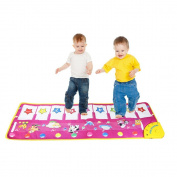 Animal Pattern Baby Touch Play Keyboard Musical Toys Music Carpet Mat Blanket Early Education Tool Toys