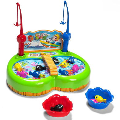 Prextex Kids Magnetic New Style Fishing Game with Sound