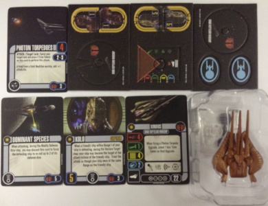 (Ship from USA) Star Trek Attack Wing Xindus Op with Power Grid /ITEM#H3NG UE-EW23D180244