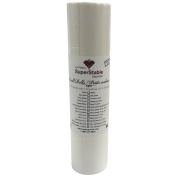 Cut away 60ml White 30cm x 10 yards roll. SuperStable Embroidery stabiliser