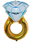 """Premium Mylar """"LOVE"""" & """"DIAMOND RING"""" Extra Large Romantic Balloons, Over Sized, Great For Engagement Parties, Bridal Showers, Weddings, Centrepieces, Proposals & Vow Renewals, Newly Designed!"""