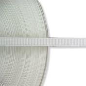 Hemline N4332.W   White Polyester Uncovered Boning 8mm x 40m