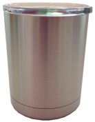 300ml Stainless Steel Lowball Travel Tumbler Double Wall Vacuum Insulated with Lid