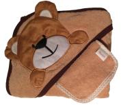 Akeekah Hooded Towel Unisex Bear 100% Organic Cotton 500GSM