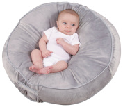 Leachco Podster Plush Sling-Style Infant Lounger - Grey