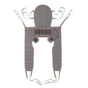 Dress High Toileting Sling with Waist Belt, Medium, Purple/Grey, Solid Polyester [Each-1 (single)]