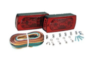 Optronics STL17RS Red Lens LED Combination Tail Light for Driver side.