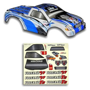 Redcat Racing Truck Body (1/10 Scale), Blue/Silver