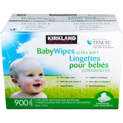 900 Kirkland Signature Unscented Baby Wipes