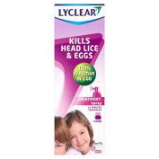 Lyclear Spray Head Lice Treatment 100ml