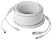 Jovision Combination Cable 5 m Power DC 12 V for IP Network CCTV Alternative PoE Function (Size