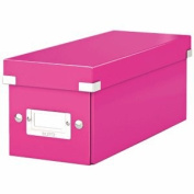 Leitz Click Store CD Storage Box & pink
