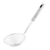 sourcingmap Metal Wire Spiral Mesh Home Kitchen Frying Skimmer Strainer 11cm Dia