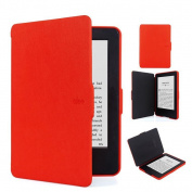 Ollee Protective Case for Kindle Paperwhite 2 & 3  -Red
