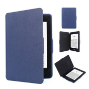 Ollee Protective Case for Kindle Paperwhite 2 & 3 -  Blue