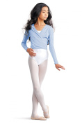 cad850c capezio cotton cardigan wrap over ballet dancewear childrens