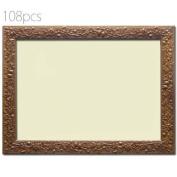 108 Piece Acorn Ghibli dedicated puzzle frame (Brown) (18.2 x 25.7cm) 1 - button