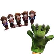 Finger Puppets -Five Little Monkeys