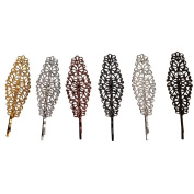 Bzybel Women Vintage Metal Hair Clips Retro Hairpins Party Hair Accessories for Girls Keens