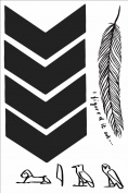 Liam Payne Temporary Tattoos Sheet