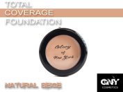 Glory Of New York Total Coverage Foundation GNY, 30ml, MADE IN USA