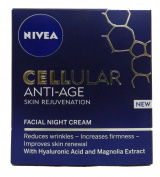 Nivea Cellular Anti-Age Skin Rejuvenation Face Night Cream - 50 ml by NIVEA