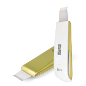 New Updated Version Mini Ultrasonic Skin Scrubber Spatula & Infusion Exfoliation Extractions Facial Lifting Treatment