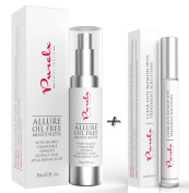 PureLx Acne and Oil Control Skincare Duo - Clear Anti Acne & Blemish Solution with Allure Oil Free Moisturising Cream