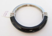 LIA SOPHIA CHROMATIC STRETCH/BANGLE BRACELET - BLACK RV$98