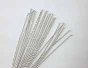 Sterling Silver Head Pins 24 Gauge 5.1cm (20 Pins) From CraftWire