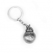 Star Wars - BB-8 - BeeBee-Ate Keychain - Silver Colour